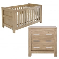Bordeaux Cot Bed & Dresser