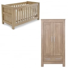 Bordeaux - Cot Bed & Wardrobe