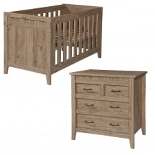 Chateaux Cot Bed & Dresser