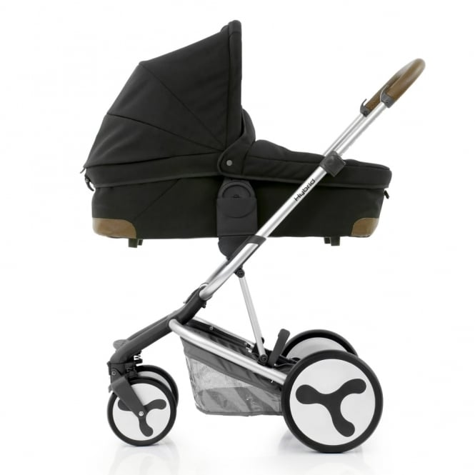 BabyStyle Hybrid Edge + Free Carrycot - Phantom Black