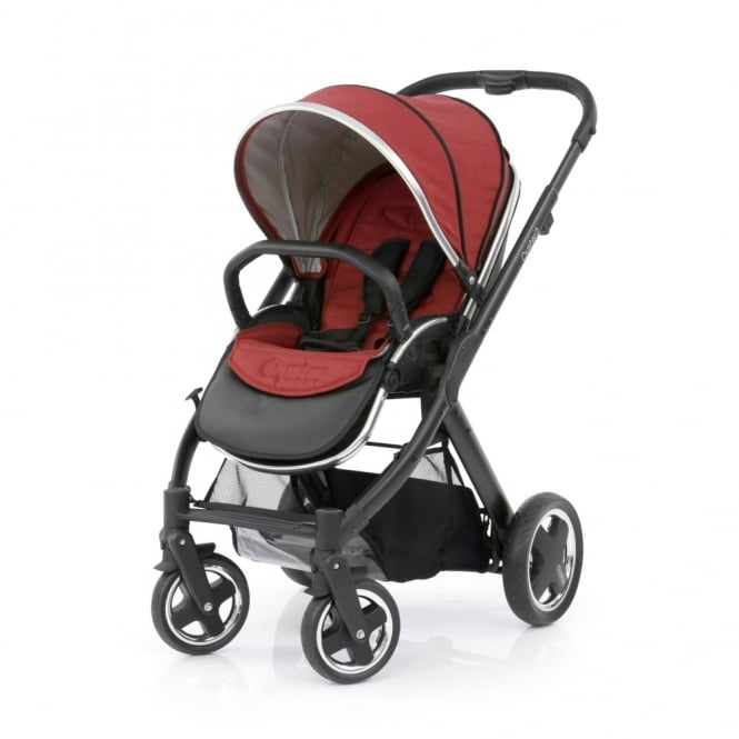 BabyStyle Oyster 2 - 3in1 - Black Chassis - Tango Red
