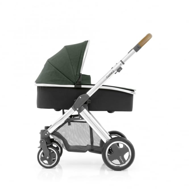BabyStyle Oyster 2 - 3in1 - Mirror Chassis (Tan) - Olive Green