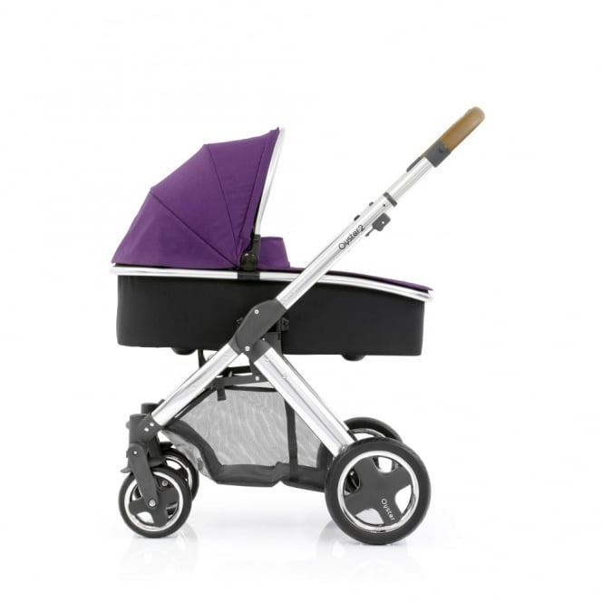 BabyStyle Oyster 2 - 3in1 - Mirror Chassis (Tan) - Wild Purple