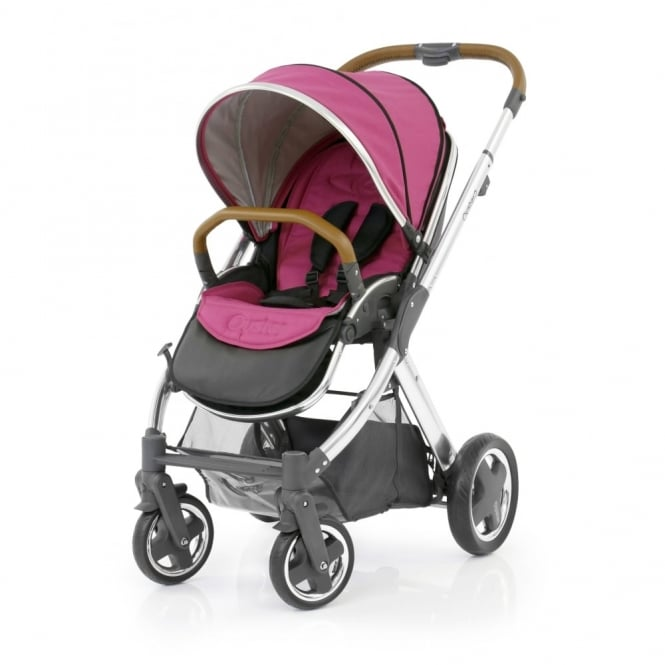 BabyStyle Oyster 2 - 3in1 - Mirror Chassis (Tan) - Wow Pink