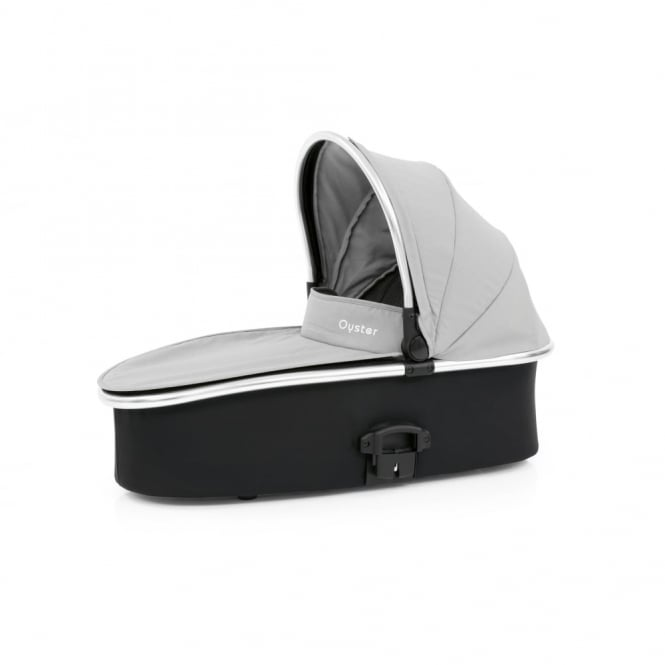 BabyStyle Oyster 2/Max Carrycot - Pure Silver