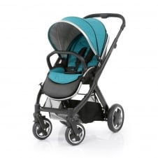 Oyster 2 Pushchair - Black Chassis - Deep Topaz