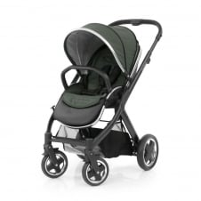 Oyster 2 Pushchair - Black Chassis - Olive Green