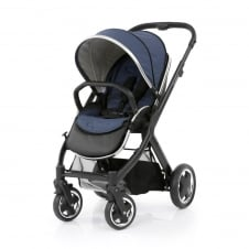 Oyster 2 Pushchair - Black Chassis - Oxford Blue