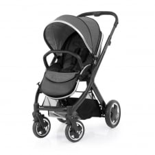 Oyster 2 Pushchair - Black Chassis - Tungsten Grey