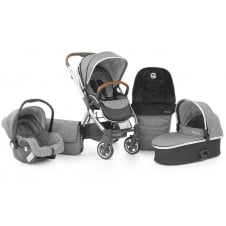 Oyster 2 - Travel System - Special Edition Wolf Grey (Tan Handle)