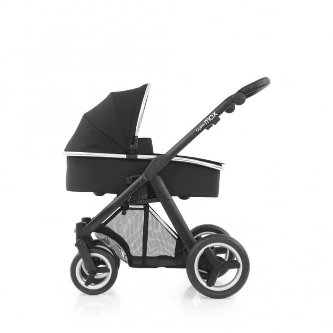 BabyStyle Oyster Max - 3in1 - Black Chassis - Ink Black