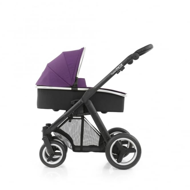 BabyStyle Oyster Max - 3in1 - Black Chassis - Wild Purple