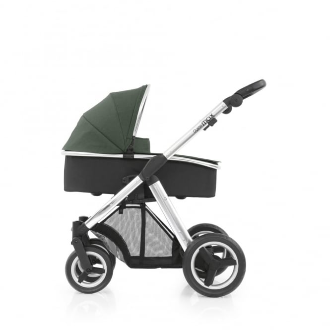 BabyStyle Oyster Max - 3in1 - Mirror Chassis - Olive Green