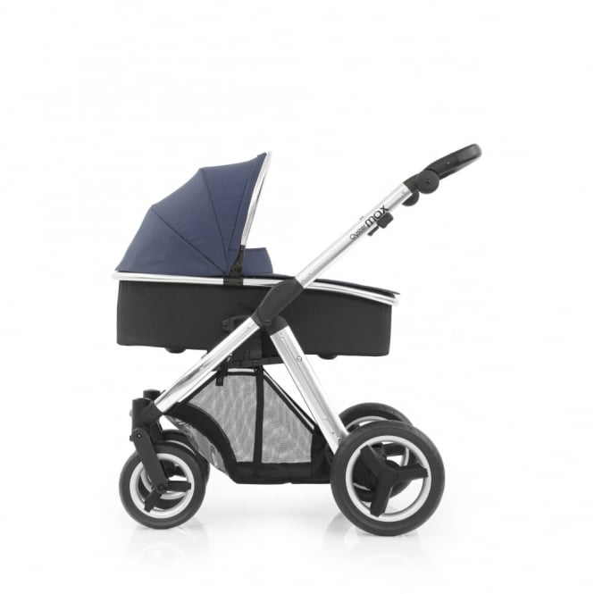 BabyStyle Oyster Max - 3in1 - Mirror Chassis - Oxford Blue