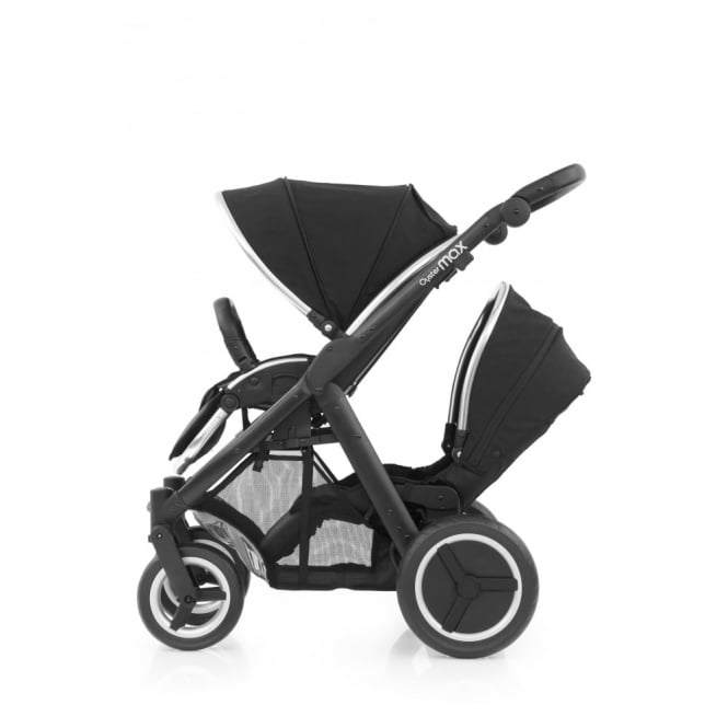 BabyStyle Oyster Max Tandem - Black Chassis - Ink Black