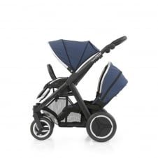 Oyster Max Tandem - Black Chassis - Oxford Blue