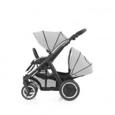 Oyster Max Tandem - Black Chassis - Pure Silver