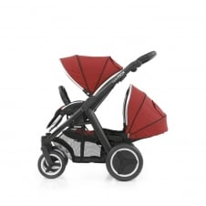Oyster Max Tandem - Black Chassis - Tango Red