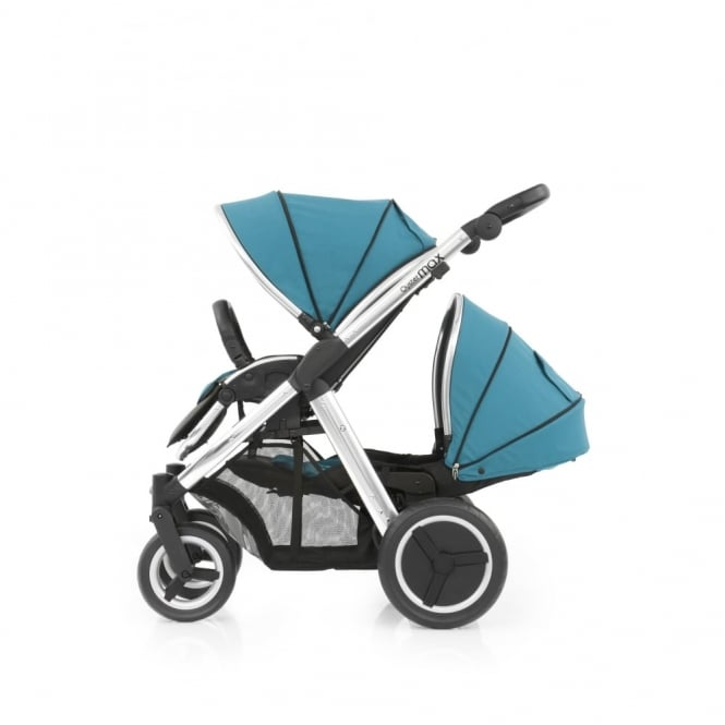 BabyStyle Oyster Max Tandem - Mirror Chassis - Deep Topaz