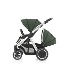 Oyster Max Tandem - Mirror Chassis - Olive Green