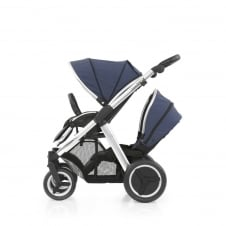 Oyster Max Tandem - Mirror Chassis - Oxford Blue