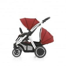 Oyster Max Tandem - Mirror Chassis - Tango Red