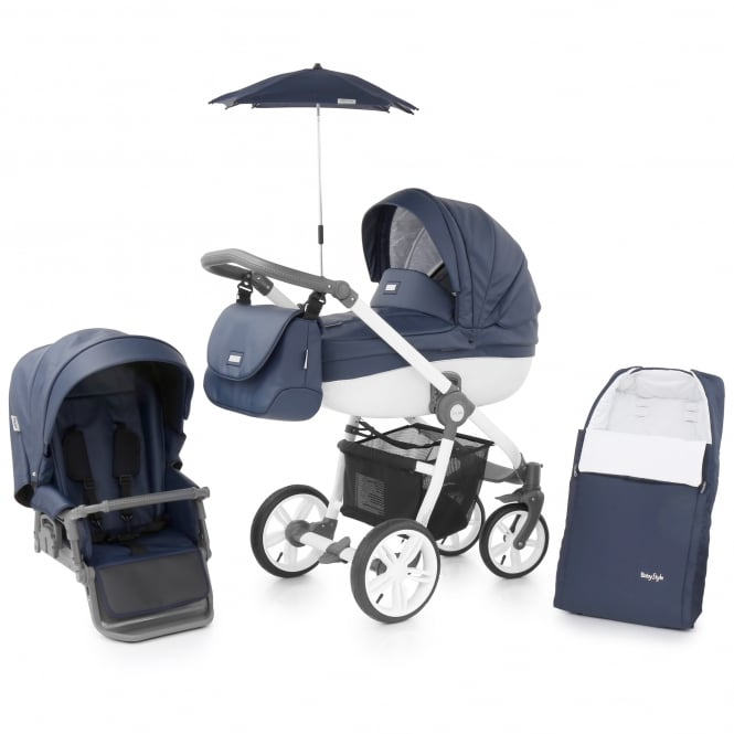 BabyStyle Prestige 2 3in1 - Active White Chassis - Marlin