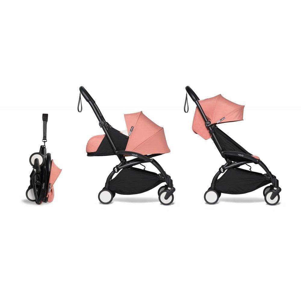 BABYZEN YOYO 2 Newborn Package 0+ Black Chassis - Ginger ...