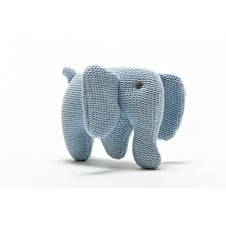 Knitted Organic Cotton Elephant