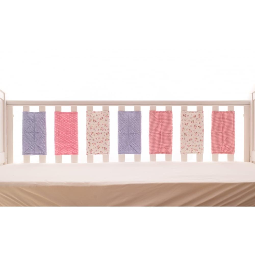 Bizzi Growin Bumper Wraps Beatrice Bedding Nursery