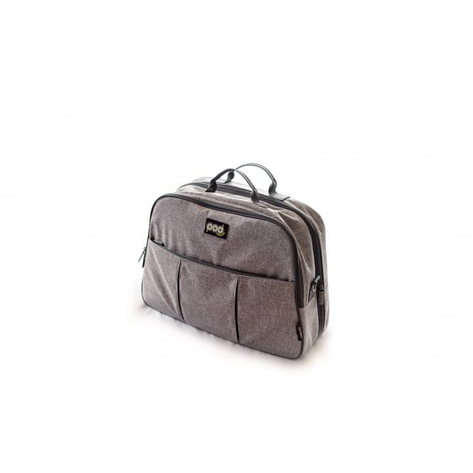 Bizzi Growin Grey Linen Pod Travel Bag