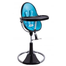 Fresco Chrome Contemporary Baby Chair - Black