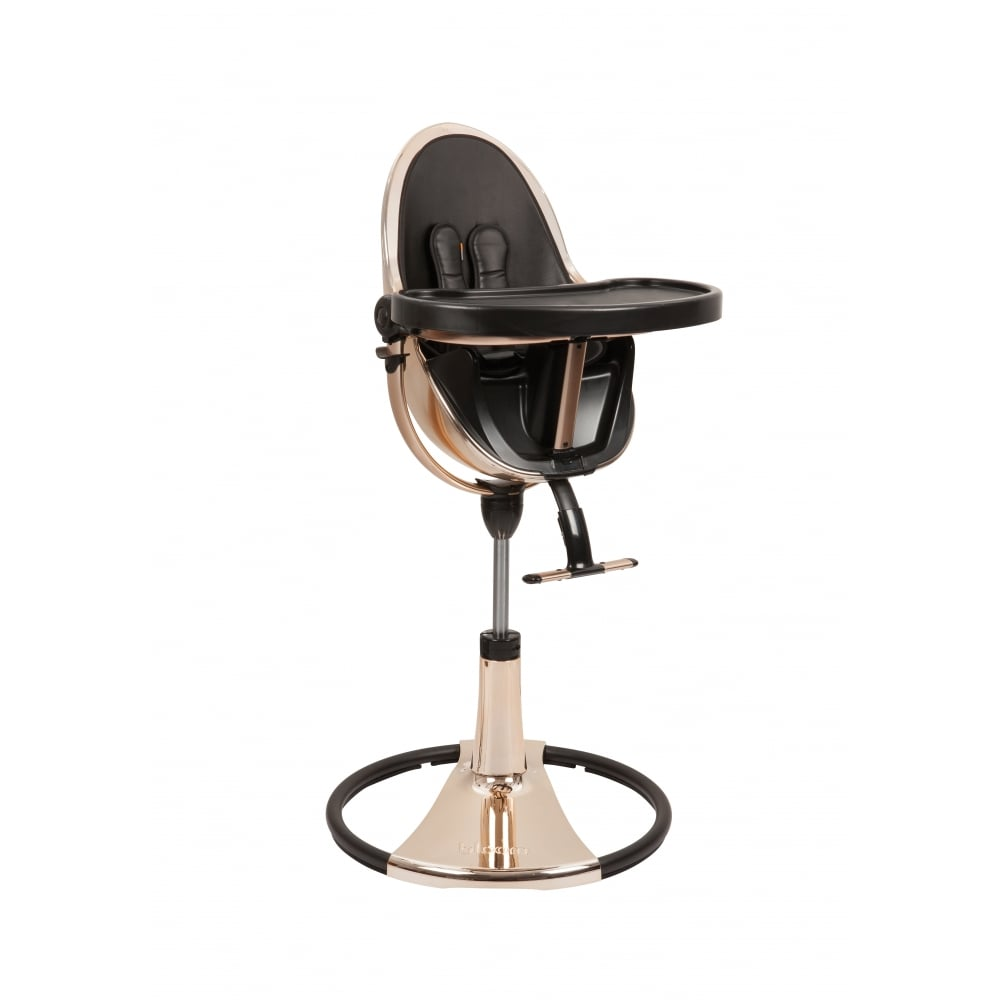 Bloom Fresco Chrome Contemporary Baby Chair Rose Gold
