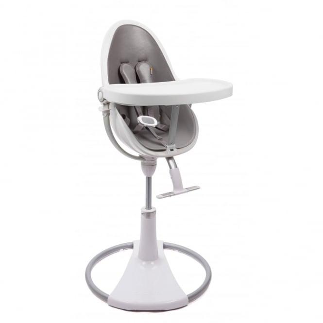 Bloom Fresco Chrome Contemporary Baby Chair White Frame