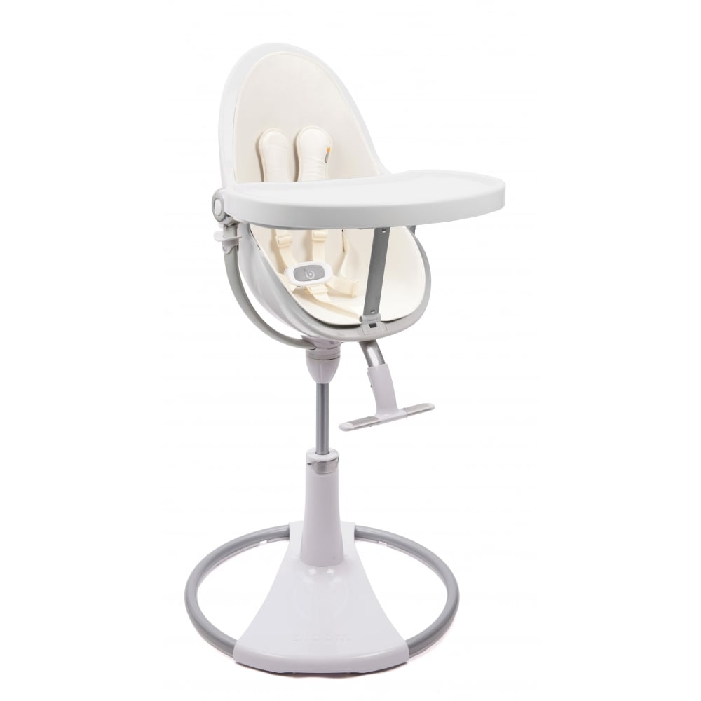 Bon Bloom Fresco Chrome Contemporary Baby Chair   White