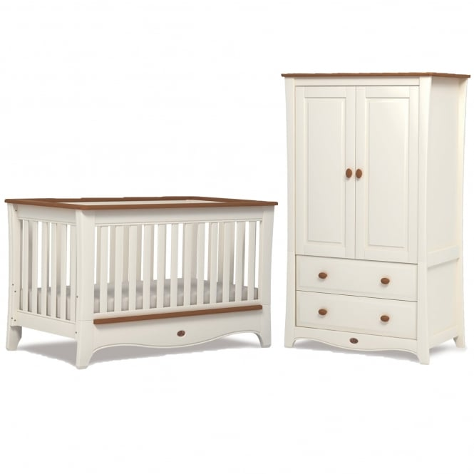 Boori Provence Convertible Plus - Cot Bed & Dresser