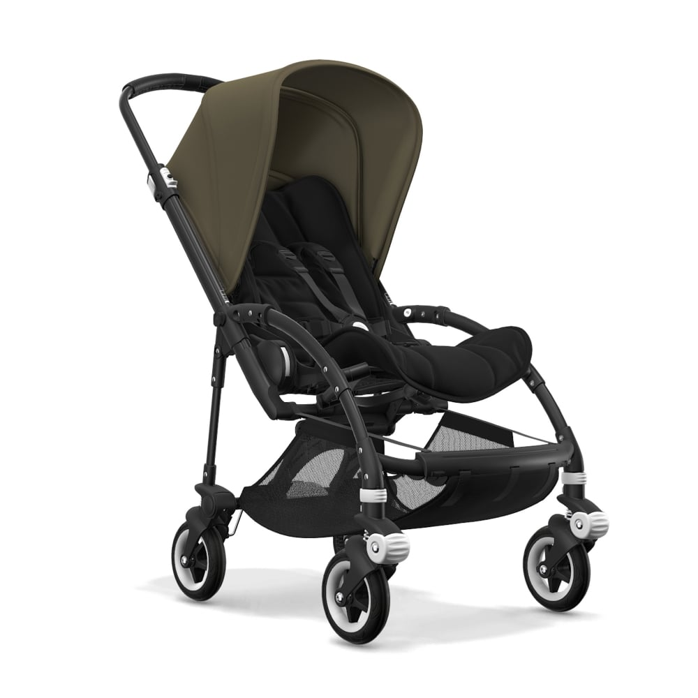 bugaboo bee5 pushchair black chassis prams pushchairs from pramcentre uk. Black Bedroom Furniture Sets. Home Design Ideas