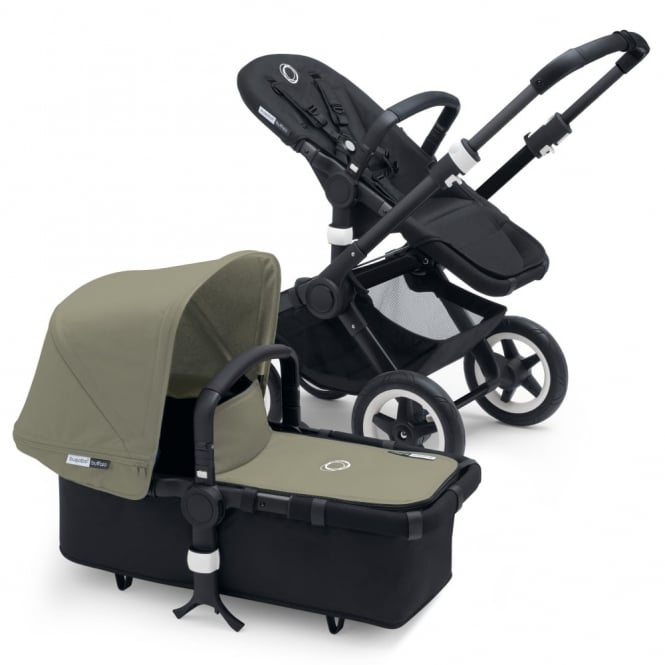 Bugaboo Buffalo 3in1 Black/Black - Dark Khaki