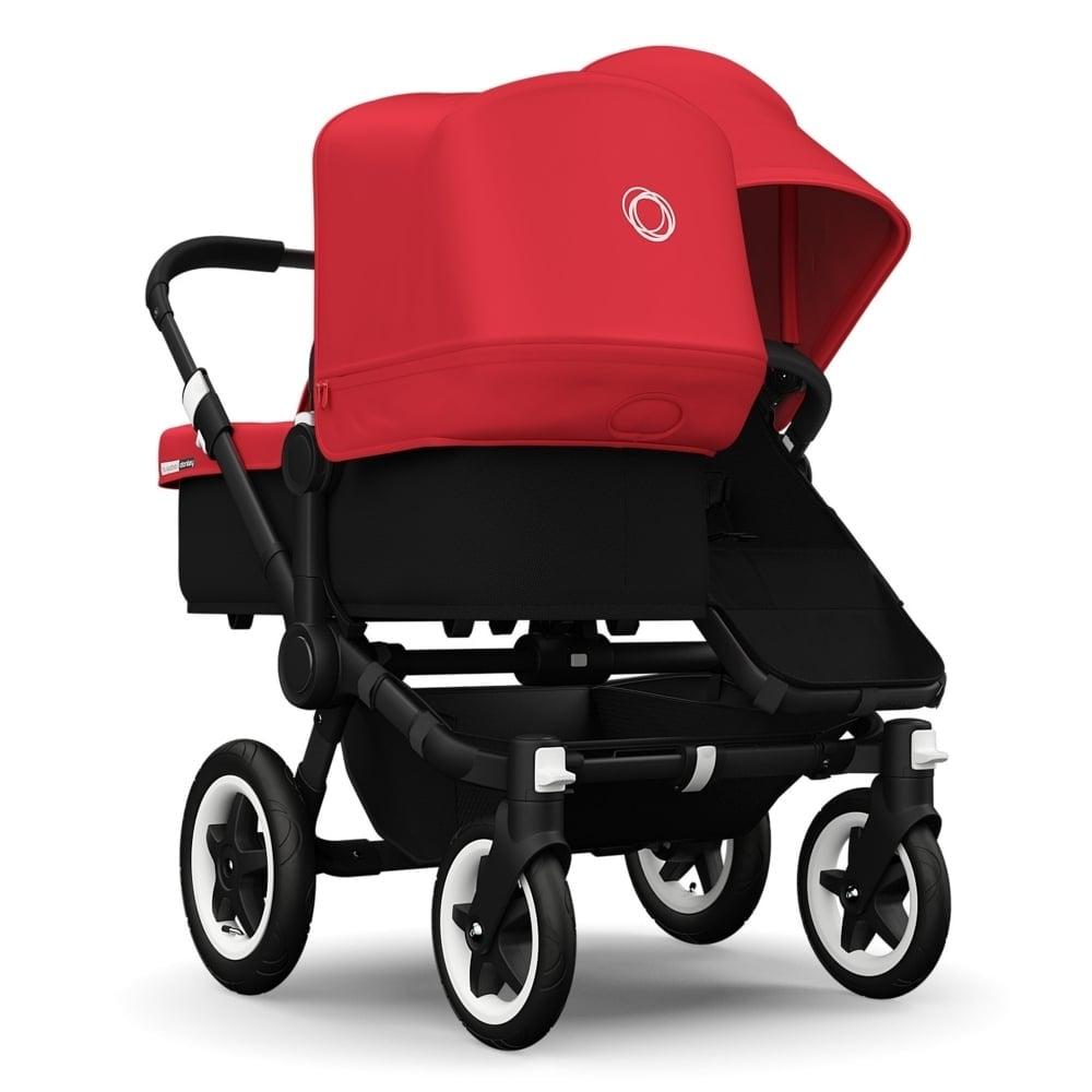 Bugaboo Donkey v1.1 Duo Black/Black - Red - Prams & Pushchairs from ...
