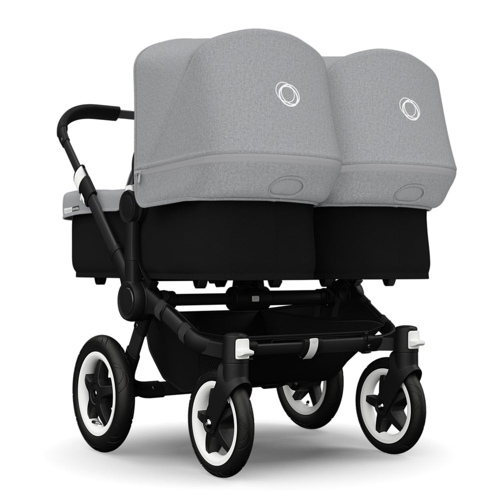 Bugaboo Donkey Twin Black Prams Pushchairs