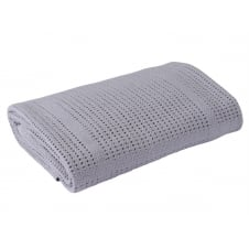 Extra Soft Cellular Cot/Cotbed Cotton Blanket
