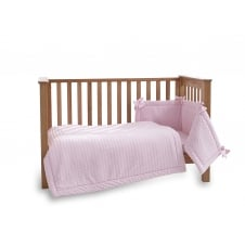 Marshmallow 3 Piece Cot Bedding Set