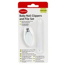 Baby Nail Clippers & File Set CL303