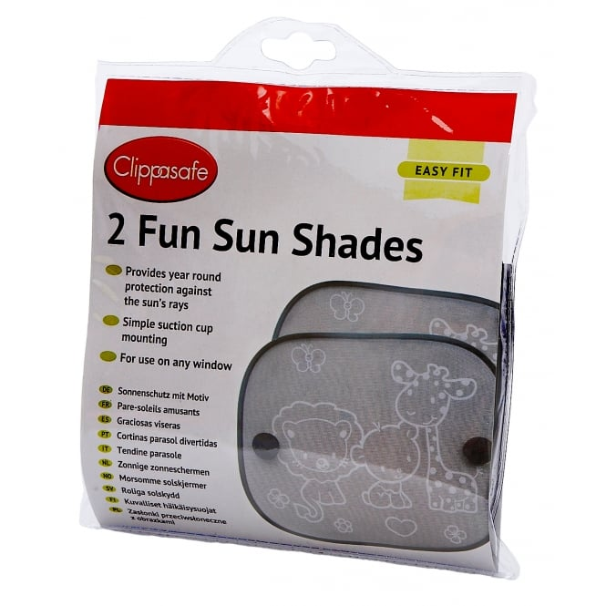 Clippasafe Fun Sun Screen (2 Pack) CL521