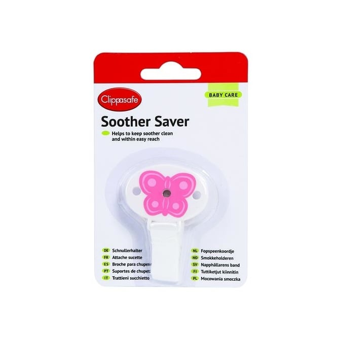 Clippasafe Soother Saver CL315