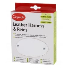 Traditional Leather Harness & Reins CL092