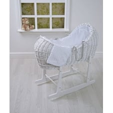 White Wicker Pod