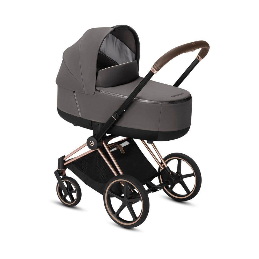 Cybex Priam 3 In 1 Rose Gold Frame Manhattan Grey Prams