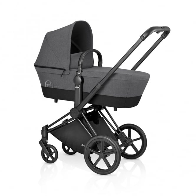 Cybex PRIAM 3in1 - All Terrain - Black - Manhattan Grey