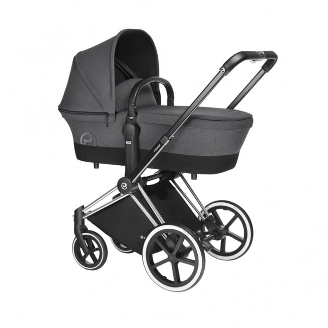 Cybex PRIAM 3IN1 - Light Chassis - Chrome - Manhattan Grey